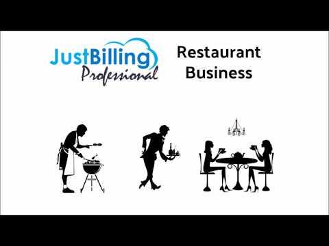 Just Billing Restaurant POS App Demo