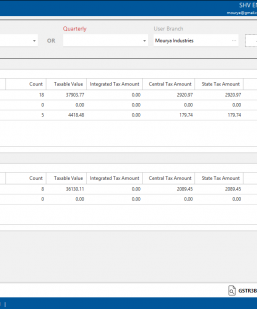 back office erp gst dashboard