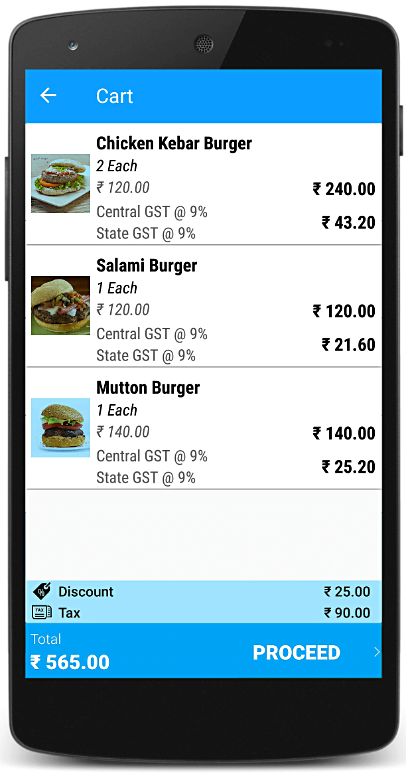 Free Mobile Billing App & Invoicing App for Retail and Restaurant