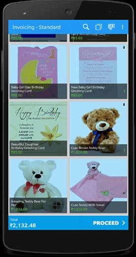 billing app gift shop