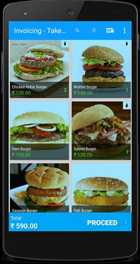 billing app restaurant billing