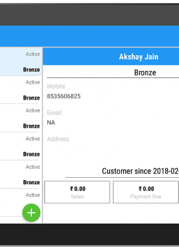 billing app customers