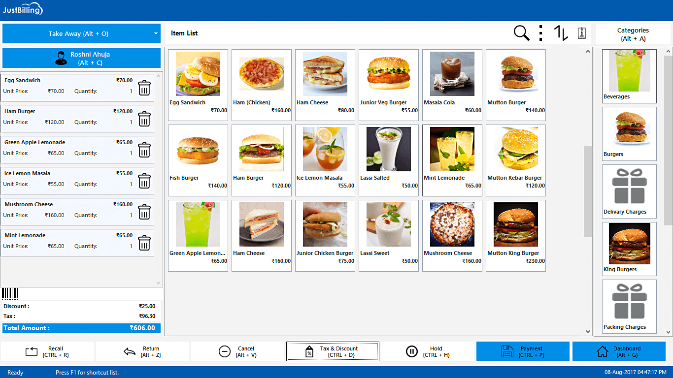 Free Retail POS software and Restaurant Management System