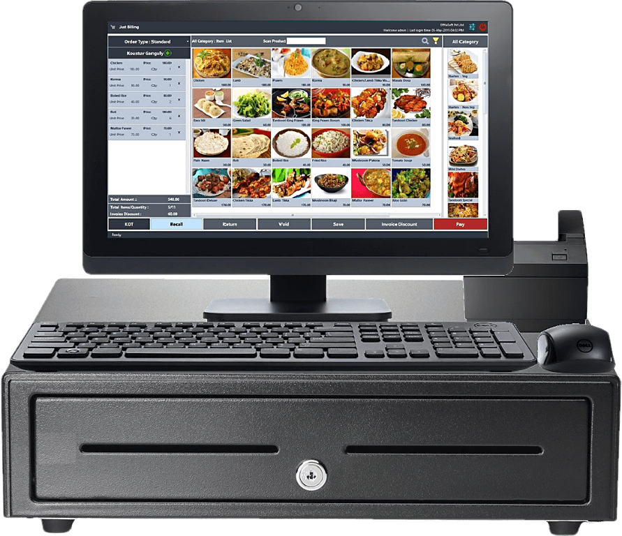 POS Billing Software for Retail and Restaurant with GST